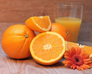 Vitamins For Stress Relief - Vitamin C in oranges