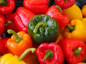 Vitamins For Stress Relief - Vitamin C in Peppers