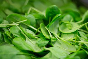 Spinach - Source of vitamin A