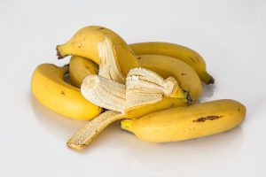 Great source of potassium - bananas