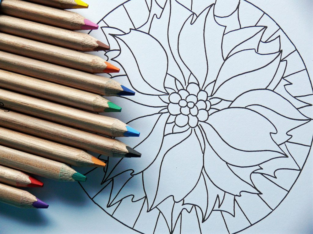 Adult Mandala Coloring Books