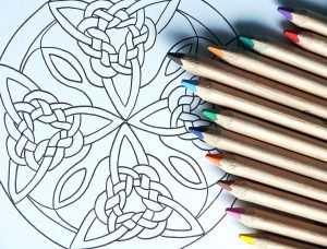mandala adult coloring books - Book Pictures To Color
