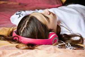 Girl Who Listen Music