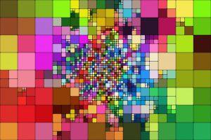 Abstract Mosaick