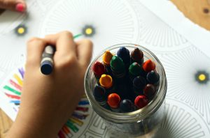 Crayons and Coloring