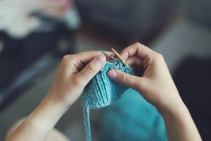 Knitting For Stress Relief