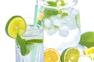 Mineral Water With Citrus Fruits