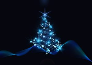 Christmas tree shine
