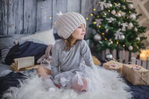 Girl in Christmas