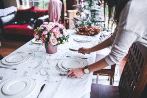 Dinner Table For Christmas