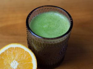 Green Smoothie with Chlorella