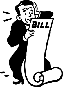 Worried about money, about bills