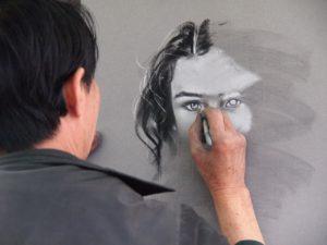 Artist Creates Art