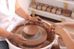 Working With Clay and Relieve Stress