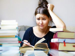 Stress management and books