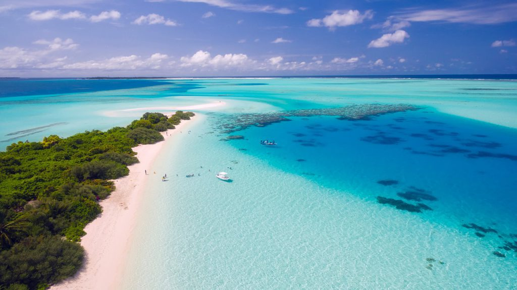 What is travel stress? Maldives islands