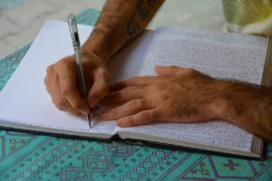 WRITING HELPS